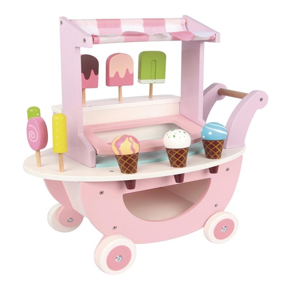 親親 木製冰淇淋車(MSN18022)