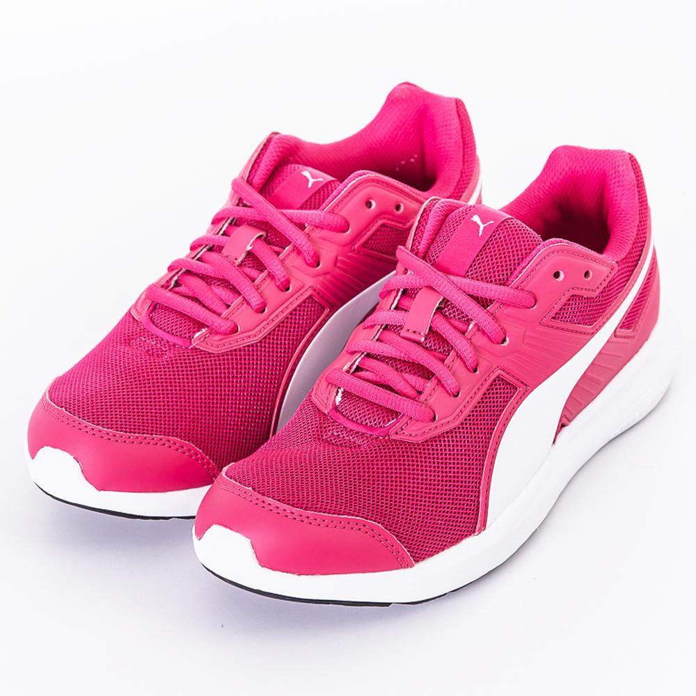PUMA-女慢跑鞋-36430704-粉