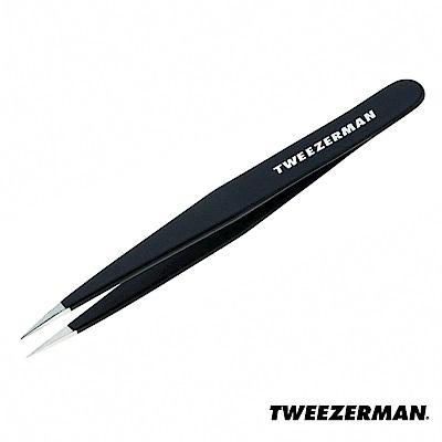 Tweezerman 專業尖頭鑷-個性黑