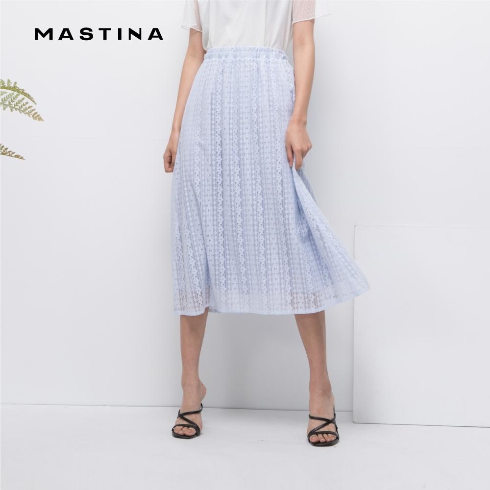 【MASTINA】浪漫氣質鏤空蕾絲-裙子(二色)