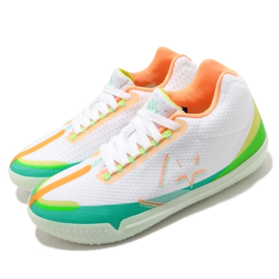 Converse 籃球鞋 Hi Vis All Star BB 男鞋 低筒 螢光 React 避震 球鞋 白 綠 169511C