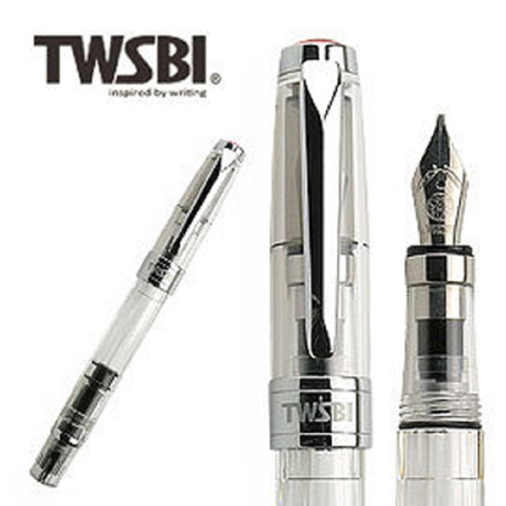 台灣三文堂鋼筆 鑽石 580 透明 1.5