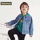 Balabala巴拉巴拉-英雄聯盟牛仔外套-男(牛仔色)