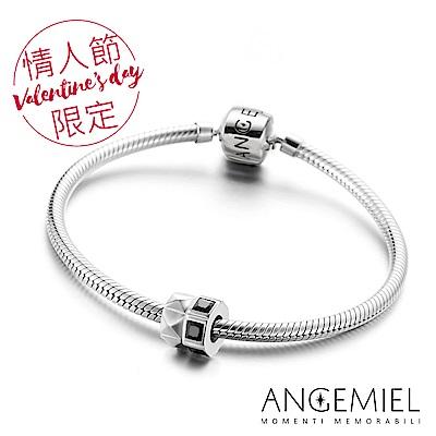 Angemiel安婕米 925純銀手鍊+串珠組(雙飛)