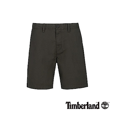 Timberland 男款泥炭色彈力直筒卡其短褲|A1WHA