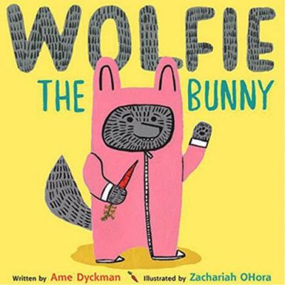 Wolfie The Bunny 狼寶寶 精裝繪本(美國版)