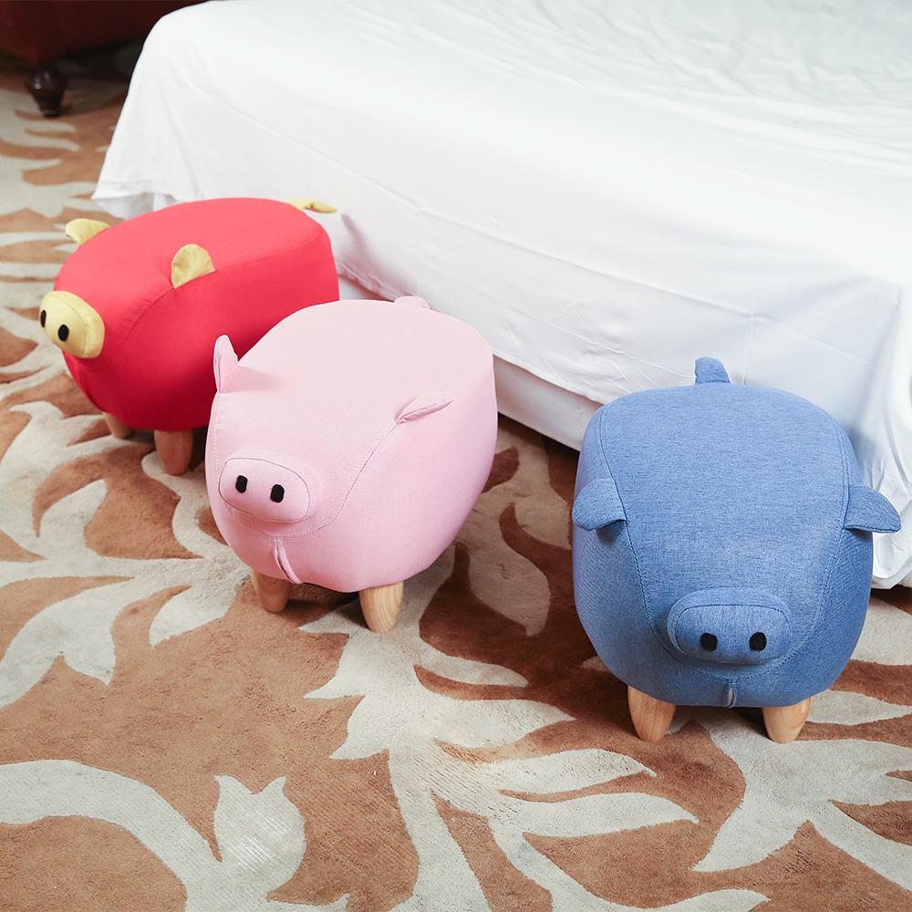 BuyJM可愛小豬造型椅凳/沙發凳/3色
