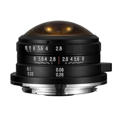 老蛙 LAOWA 4mm F2.8 Fisheye(公司貨)For Canon EOS-M