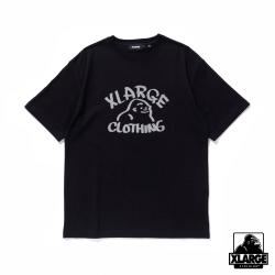 XLARGE S/S TEE REFLECTOR DRAWING OG短袖T恤-黑