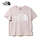 The North Face北面女款粉色吸濕排汗寬版短袖T恤|46GFBEJ