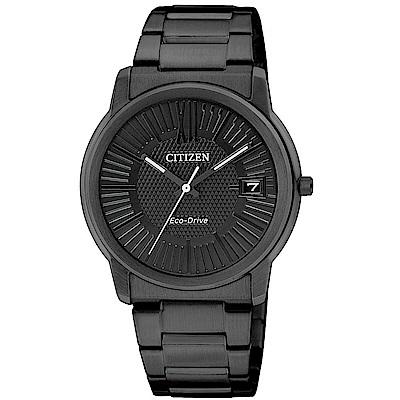 CITIZEN Eco-Drive 簡約時尚風完美情人女錶(FE6015-56E)