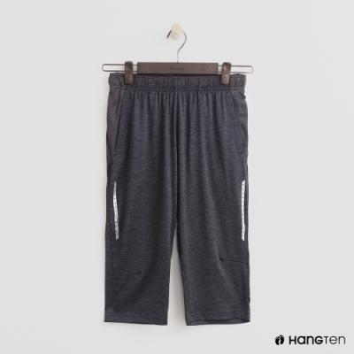 Hang Ten-童裝反光印條運動長褲-灰