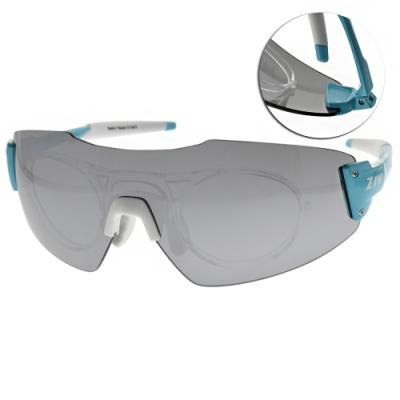 ZIV運動眼鏡 RACE RX系列 附內視鏡/藍-白 #(B113046)-131