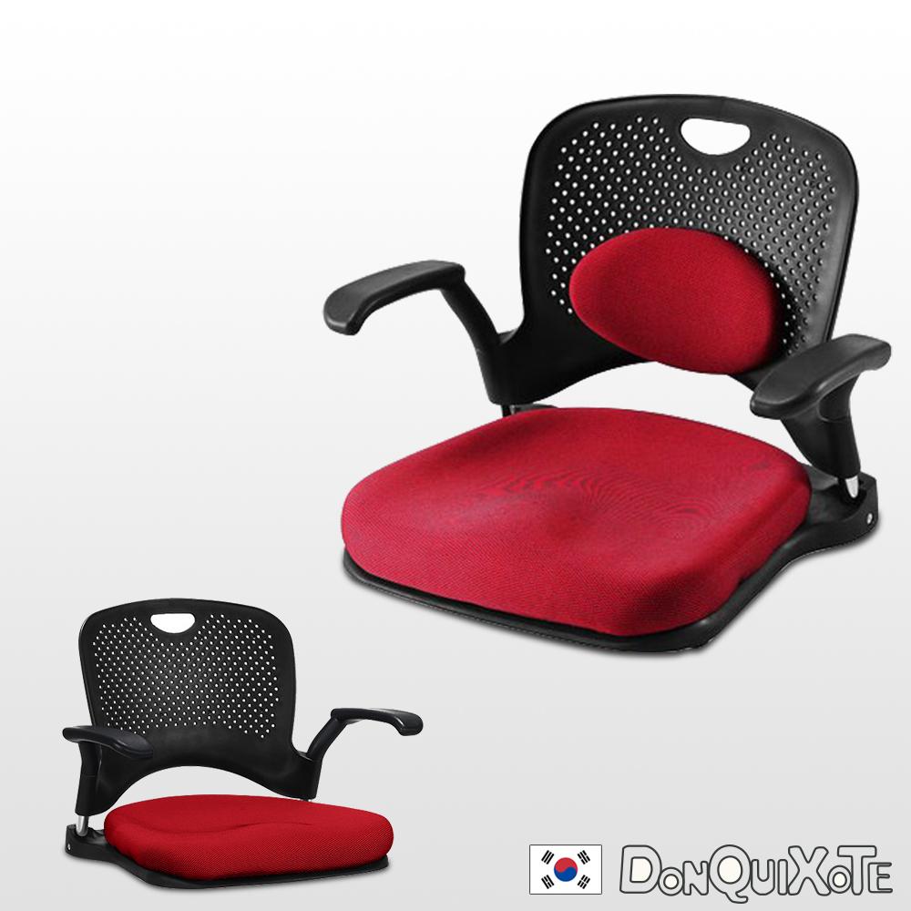 DonQuiXoTe-韓國原裝KINOMO和風人體工學椅-紅