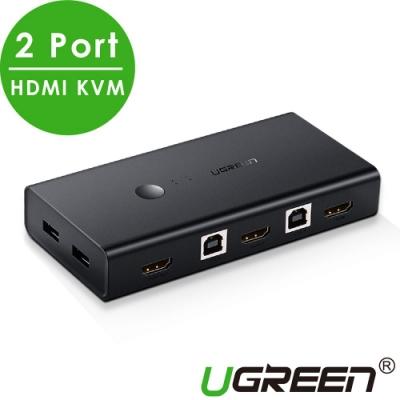 綠聯 2 Port HDMI KVM電腦切換器