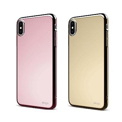 elago iPhone XS Max全包覆防摔手機殼(金屬色系)