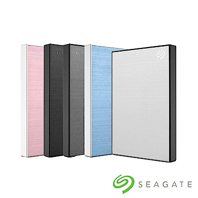 Seagate Backup Plus Slim 2TB 2.5吋外接硬碟(5色任選)