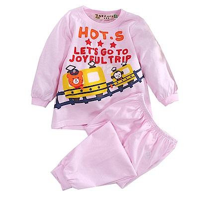 印花薄長袖居家套裝 k50638 魔法Baby