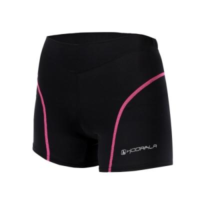 HODARLA 貝拉女單車內褲-3D立體坐墊 自行車 腳踏車 車褲 台灣製 黑透明粉紅