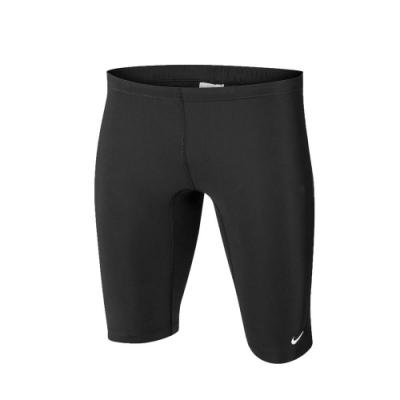NIKE 男 及膝泳褲  SWIM 黑白