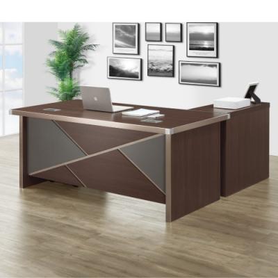 MUNA 伯特5.3尺辦公桌組(含側櫃,活動櫃) 160X155X76.5cm