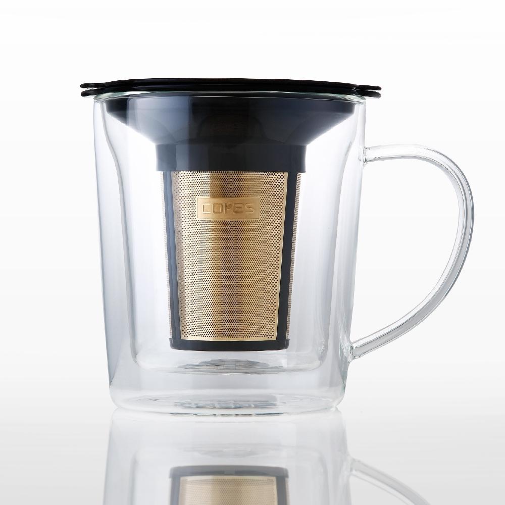 Cores 雙層玻璃沖泡杯 - 浸泡/冷泡 (C402)