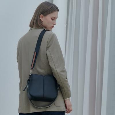 【Elegance】ROUEN 側背包-黑色