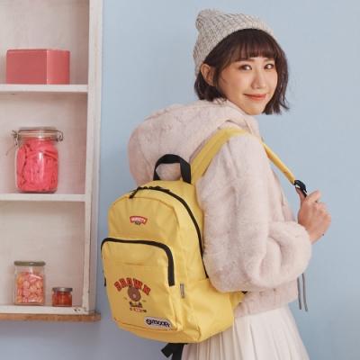 【OUTDOOR】LINE聯名款-校隊熊大後背包-黃色 ODBF20A11YL