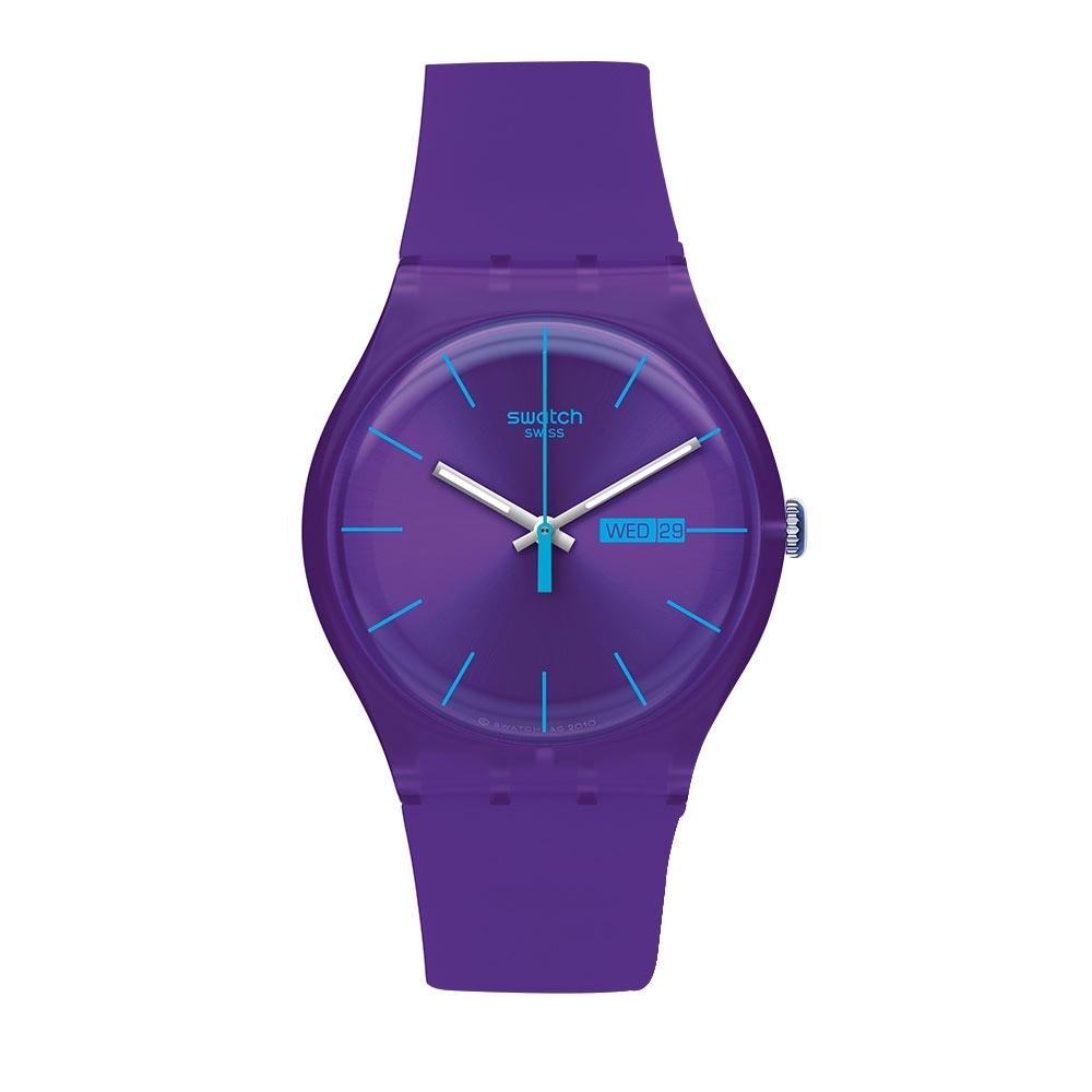 Swatch Rebel Aagin 系列手錶 PURPLE REBEL 反叛紫