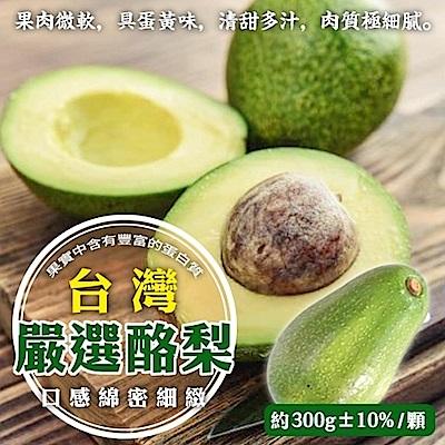 (滿799免運)【天天果園】特選新鮮大顆酪梨 x1台斤