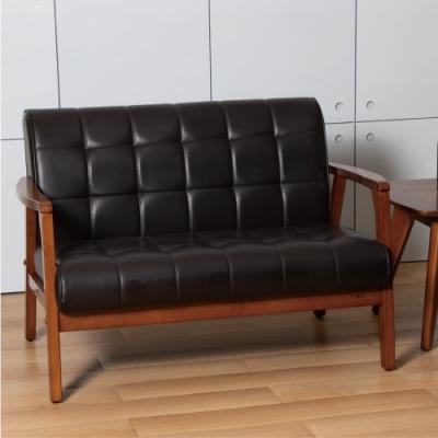 D&T 德泰傢俱 Chloe北歐復古風2人座沙發 -116x75x80 (cm)