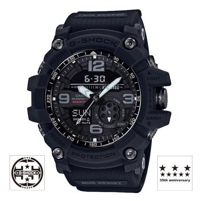 G-SHOCK 35周年-宇宙震撼新誕生霧面磨砂黑概念錶-(GG-1035A-1A)-55mm