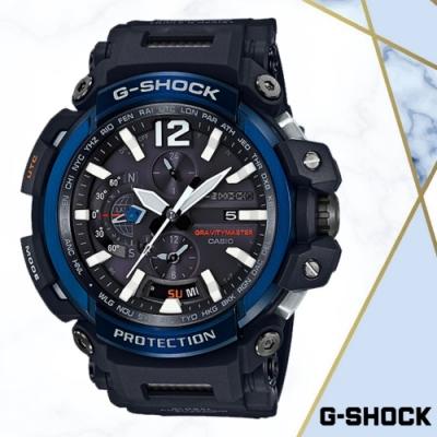 CASIO卡西歐 GPS藍芽功能飛行概念錶(GPW-2000-1A2)/66mm