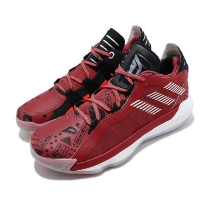 adidas 籃球鞋 Dame 6 GCA 運動 男鞋 愛迪達 NBA球星 避震 鴛鴦 雙色 紅 橘 EF9878