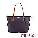 MI PIACI革物心語-雙口袋系列托特包-紫色 1281717