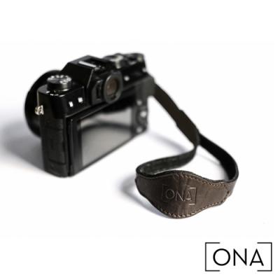 ONA Leather Kyoto 時尚皮革相機手腕帶 - 松露黑