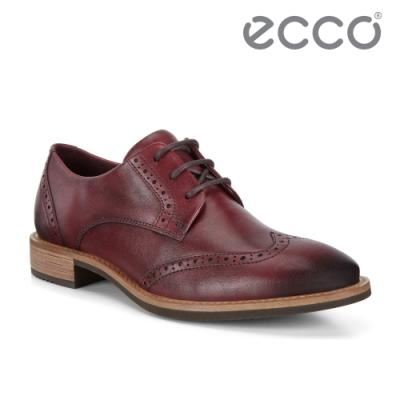 ECCO SARTORELLE 25 TAILORED 英式復古牛津鞋 女-酒紅