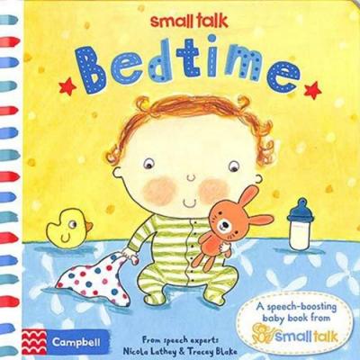 Small Talk:Bedtime 寶寶上床睡覺硬頁書