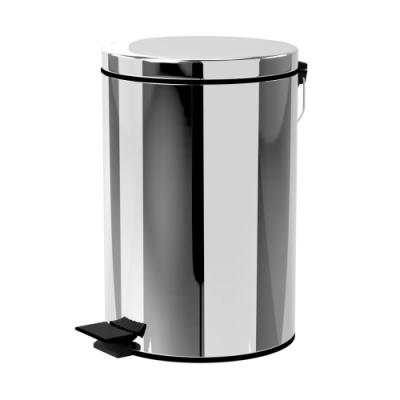 TRENY 加厚 緩降 不鏽鋼垃圾桶 20L