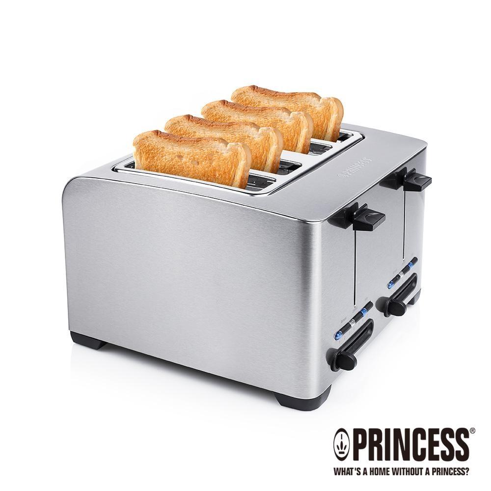 PRINCESS荷蘭公主不鏽鋼四片烤麵包機142397