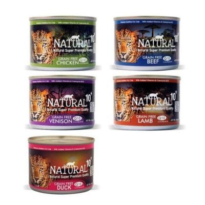 紐西蘭NATURAL10+ 無穀機能主食罐 185g 48罐組