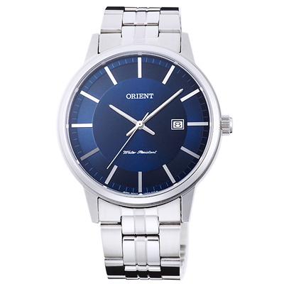 ORIENT東方 PAIR 質感時尚男錶手錶-FUNG8003D-銀X藍/40mm