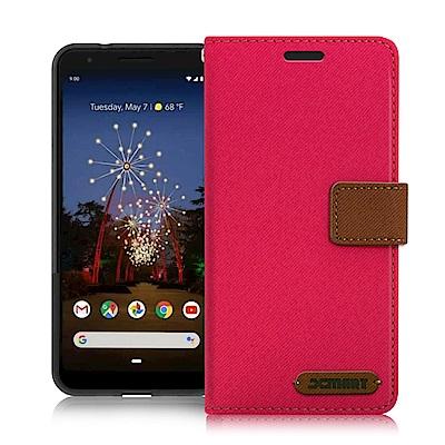 Xmart for Google Pixel 3A XL 度假浪漫風支架皮套