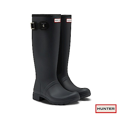 HUNTER - 女鞋-TOUR長靴 - 黑