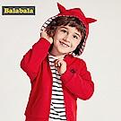 Balabala巴拉巴拉-街頭男孩立體小惡魔連帽外套-男(4色)
