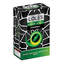 LOLES清新小鮮肉保濕乳油木皂150g