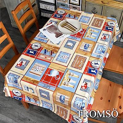 TROMSO北歐生活抗汙防水桌布-北歐下午茶