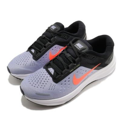 Nike 慢跑鞋 Zoom Structure 23 女鞋 氣墊 避震 舒適 路跑 健身 輕量 透氣 紫 黑 CZ6721500