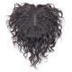 米蘭精品 假髮片真髮絲-20cm捲髮補髮塊透氣女假髮母親節禮物2色73us15 product thumbnail 1