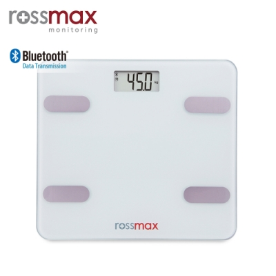 (限量領券再折)rossmax優盛 藍牙體重體脂計LS212-B
